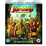Jumanji dvd filmer Jumanji: Welcome To The Jungle [4K Blu-ray] [2017]